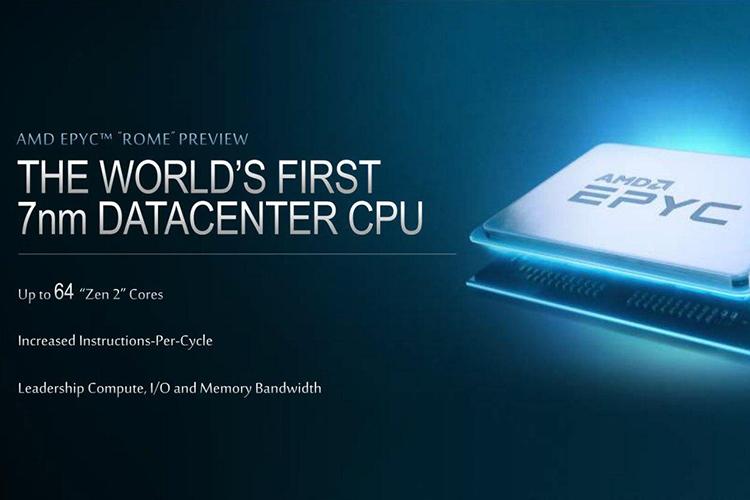 """AMD показала, как один EPYC Rome одолевает пару 28-ядерных Xeon Platinum"""""""