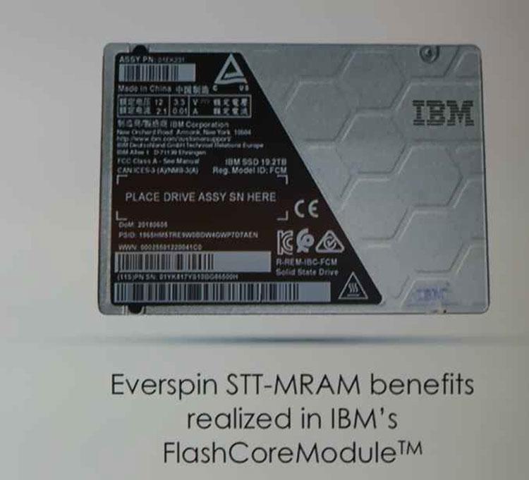 SSD IBM FlashSystem с буфером из памяти STT-MRAM