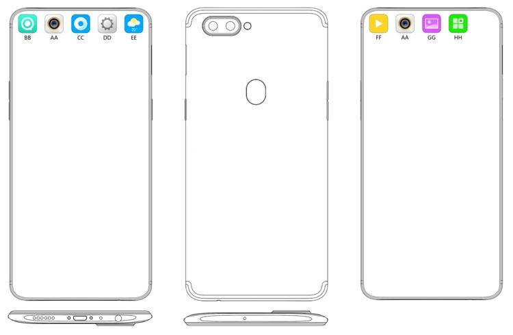"""OPPO предложила способ маскировки отверстия в экране смартфонов для селфи-камеры"""""""