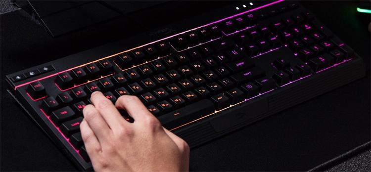 """HyperX Alloy Core RGB: мембранная клавиатура с многоцветной подсветкой"""""""