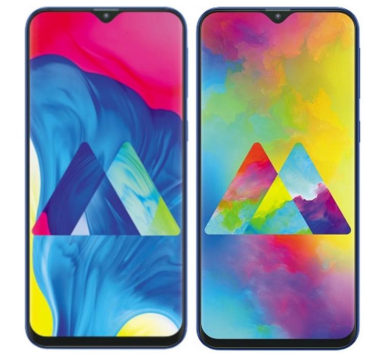 """Дебют смартфонов Samsung Galaxy M10 и M20 с экраном Infinity-V и двойной камерой"""""""