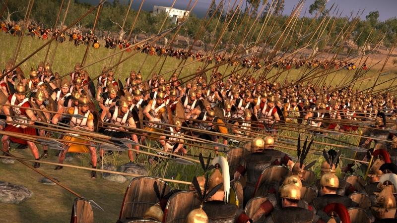 На полях сражений Total War сходятся тысячи воинов. Новички и слабаки побегут первыми
