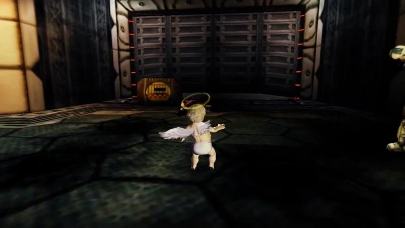 Ангелочек Боб пробирается по грязным, опасным коридорам. Ему нужно подходящее тело...