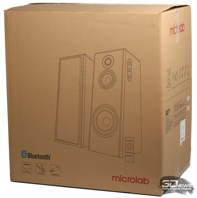 Упаковка акустической системы Microlab Solo 19