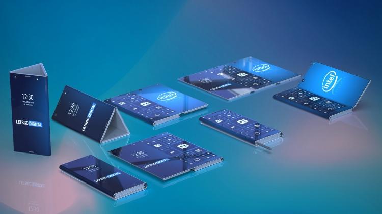 """Intel работает над складным смартфоном-планшетом"""""""