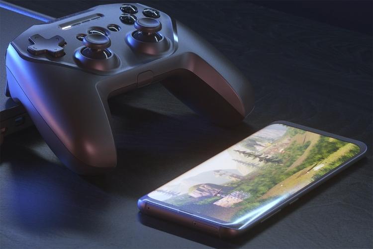 """Беспроводной игровой контроллер SteelSeries Stratus Duo подходит для разных платформ"""""""