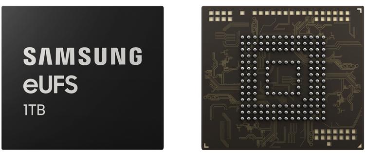 """Терабайт в смартфоне: в Samsung начат выпуск новейших модулей eUFS"""""""