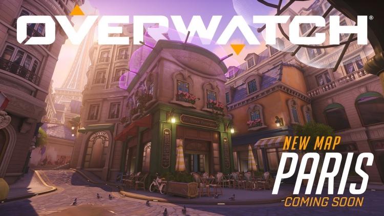 Новая карта Overwatch, Париж, теперь доступна на ПК PTR