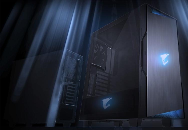 """Корпус Aorus C300 Glass упрощает подключение VR-шлемов"""""""