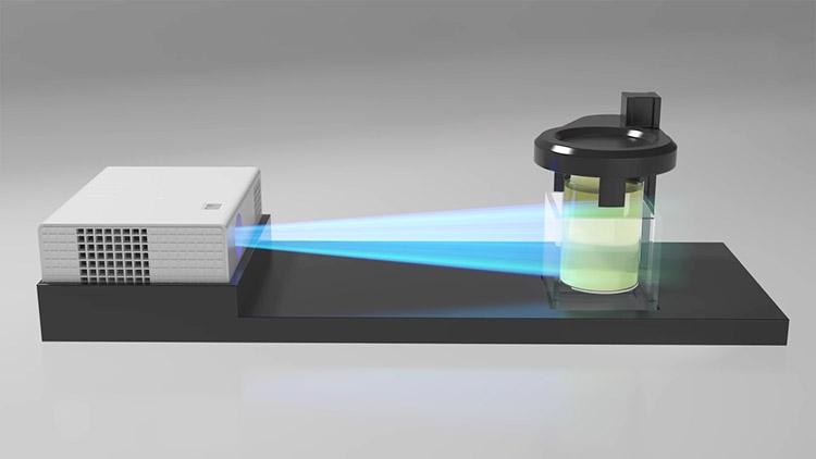"""Новый метод 3D-печати изготавливает модель целиком, а не послойно"""""""