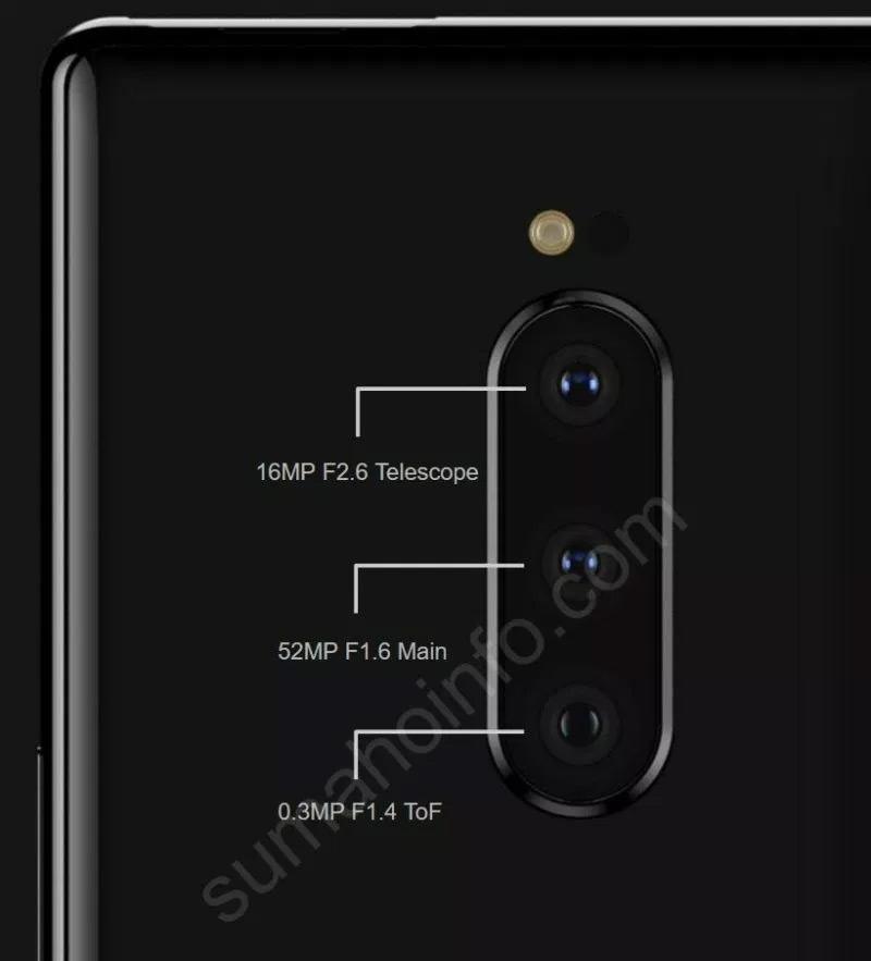 """Слухи: тройная камера Xperia XZ4 включает передовой на рынке 52-Мп датчик"""""""