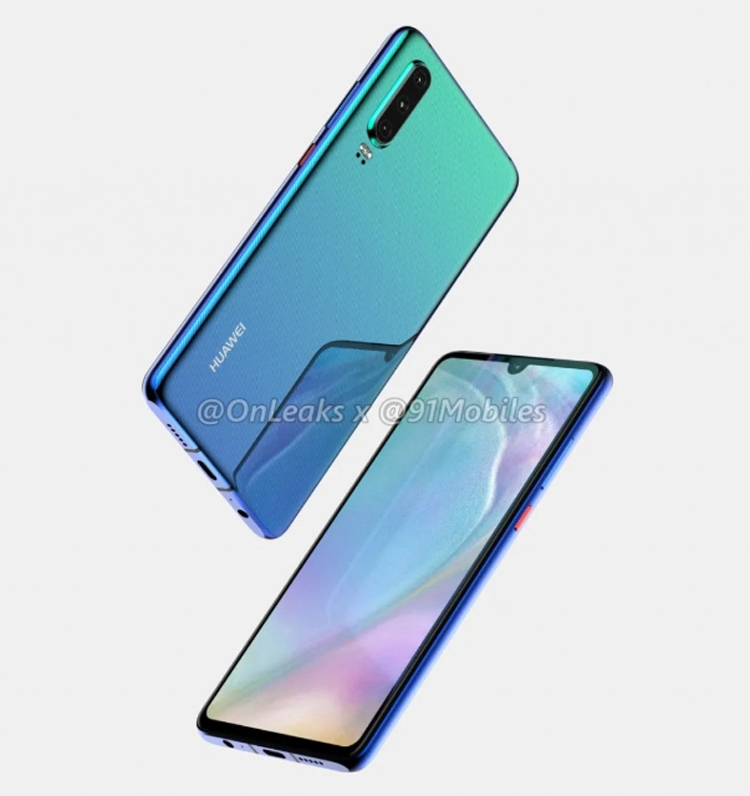"Смартфоны Huawei P30 и P30 Pro дебютируют в марте"""
