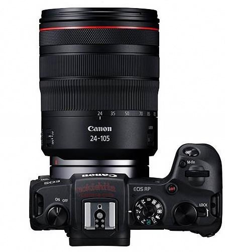 Внешний вид и характеристики полнокадровой беззеркалки Canon EOS RP