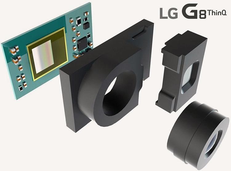 """LG G8 получит продвинутую фронтальную 3D-камеру для распознавания лиц и AR"""""""