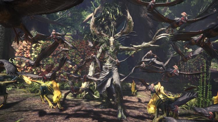 """Видео: ведьмак Геральт вышел на охоту в Monster Hunter: World"""""""