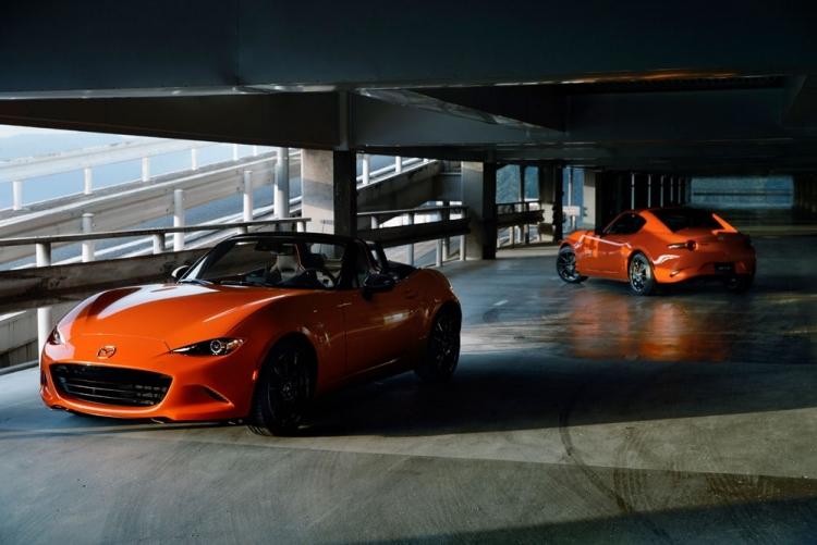 """Юбилейная версия родстера Mazda MX-5 Miata 30th Anniversary в США разошлась за считанные часы"""""""