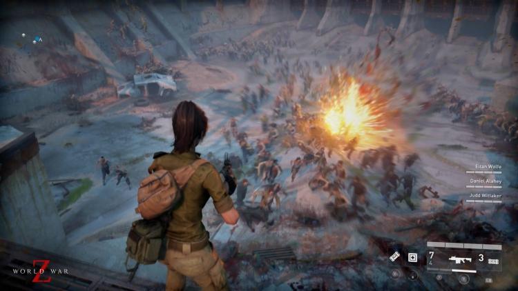 """Видео: игроки сражаются друг с другом и ордами зомби в World War Z"""""""