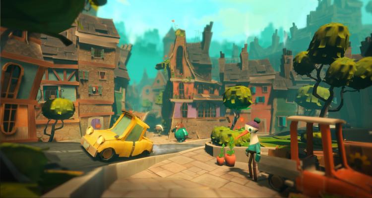"""Приключенческий VR-пазл Ghost Giant выйдет этой весной"""""""