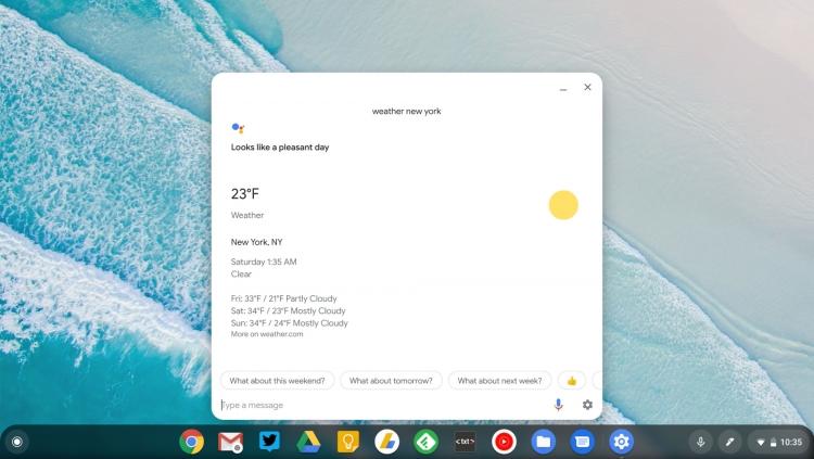 В Chrome OS расширена поддержка Google Assistant и Android Pie