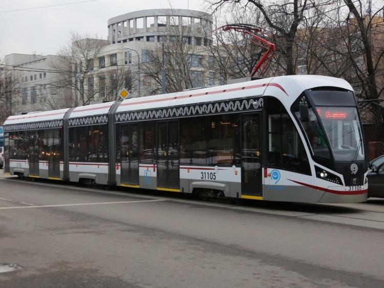 """Начались испытания первого в Россиибеспилотного трамвая"""""""