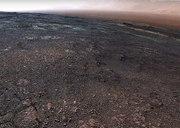 NASA разместило всети интернет панораму Марса