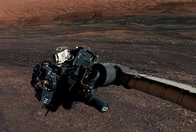 """Видео дня: новая круговая панорама Марса с борта Curiosity"""""""