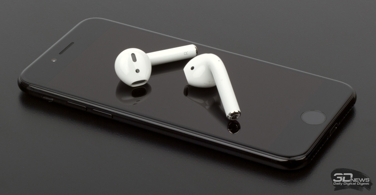 Наушники Apple AirPods 2 сохранят дизайн предшественников""