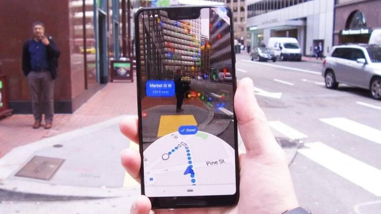 """В Google Maps добавили режим дополненной реальности"""""""