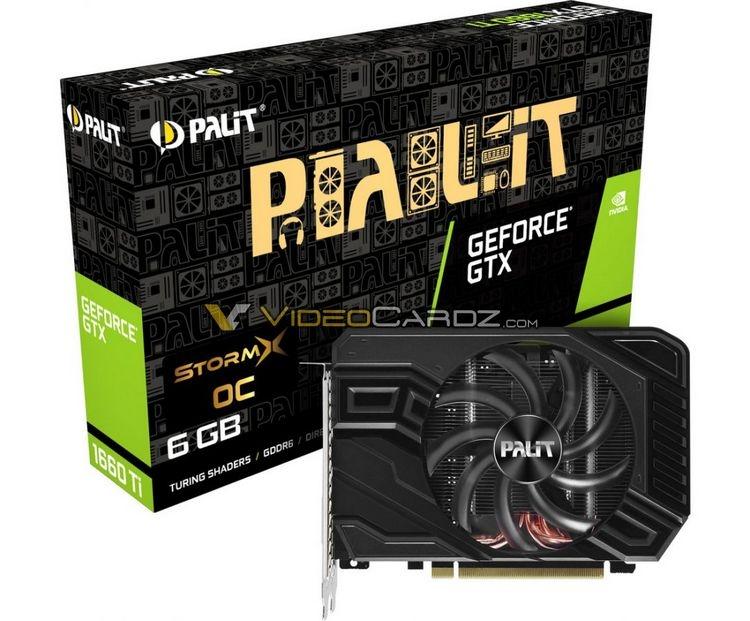 """EVGA и Palit готовят компактные версии GeForce GTX 1660 Ti"""""""