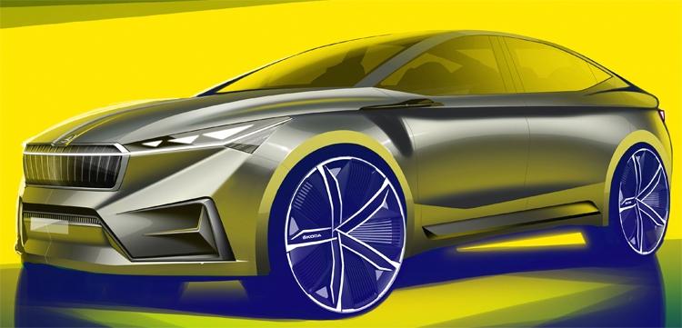 """Škoda Vision iV: будущее электрических автомобилей"""""""