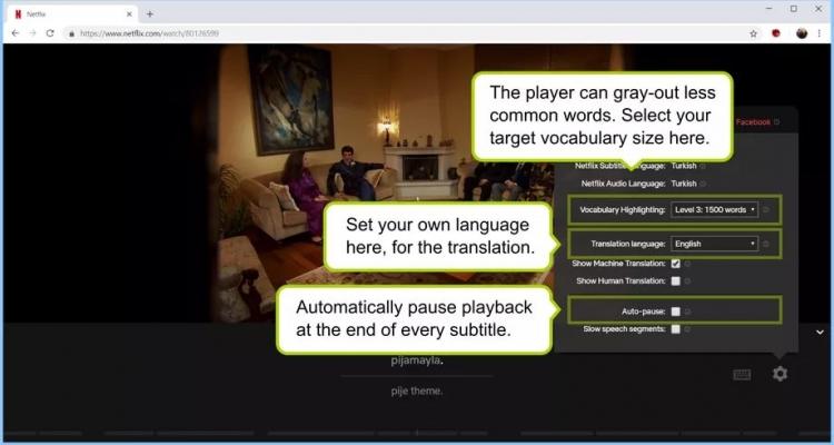 """Выпущено расширение Chrome для изучения языков с помощью Netflix"""""""