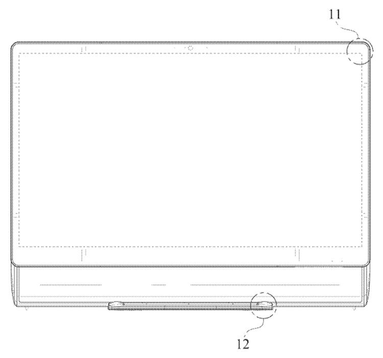 Samsung проектирует моноблок с оригинальной конструкцией изображение