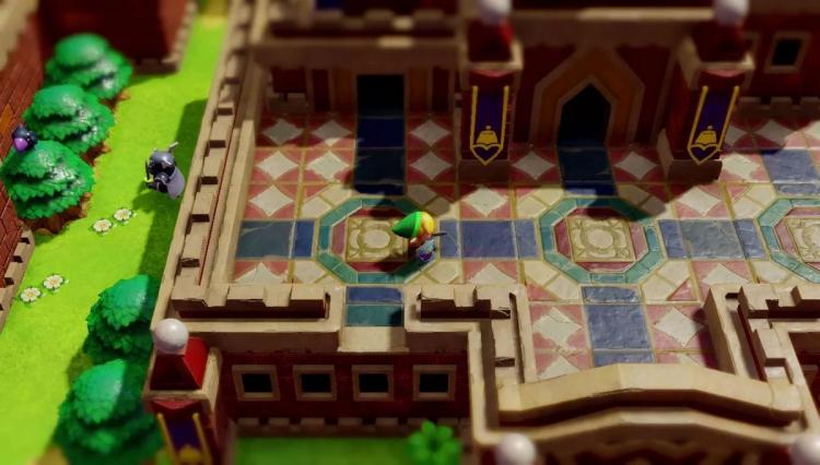 "Видео: Switch получит ремейк The Legend of Zelda: Link's Awakening"""
