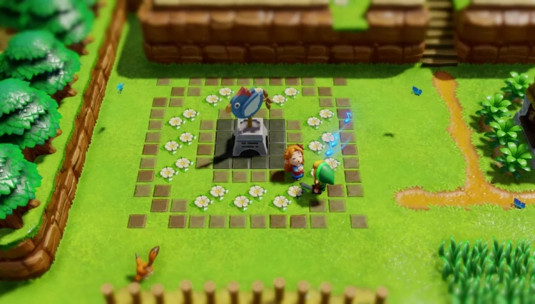 Видео: Switch получит ремейк The Legend of Zelda: Link's Awakening""