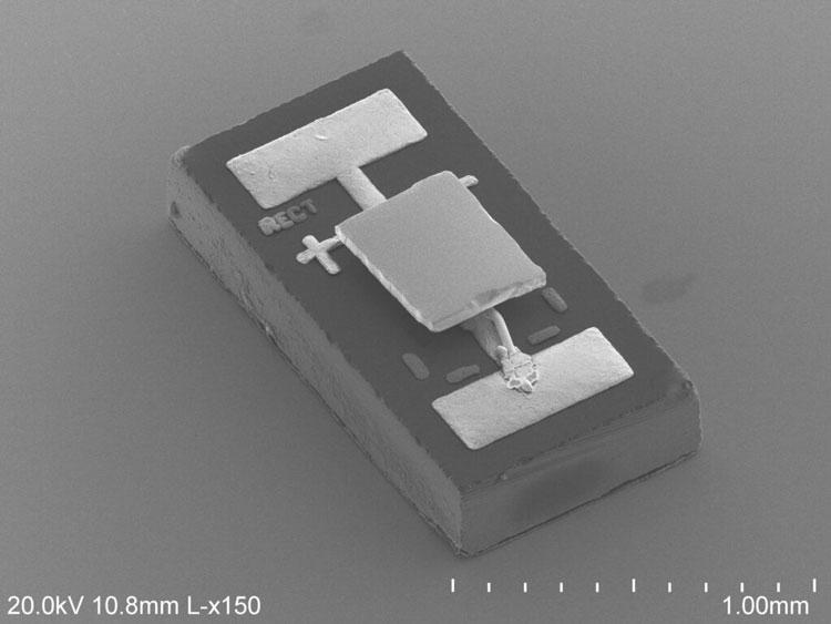 Специально изготовленный модифицированный инфракрасный фотодиод (Linxiao Zhu)