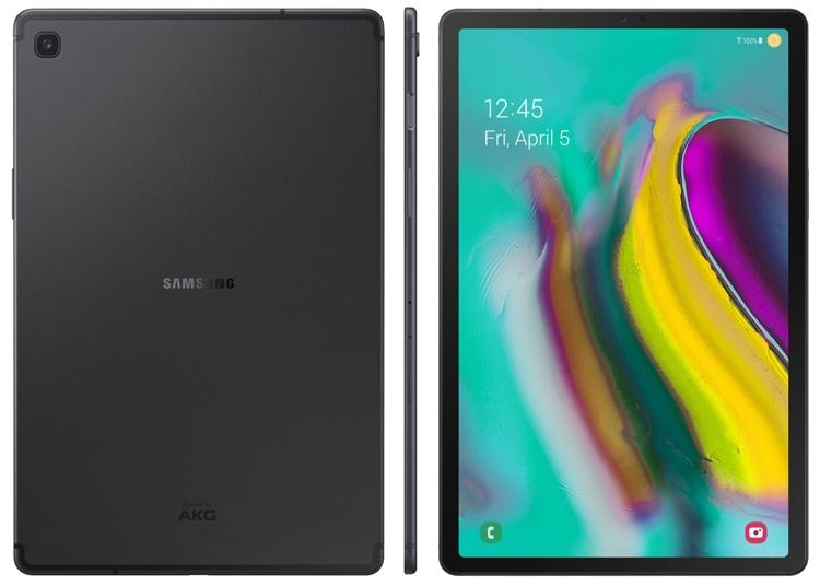"""Пресс-рендер раскрыл внешность планшета Samsung Galaxy Tab S5e"""""""