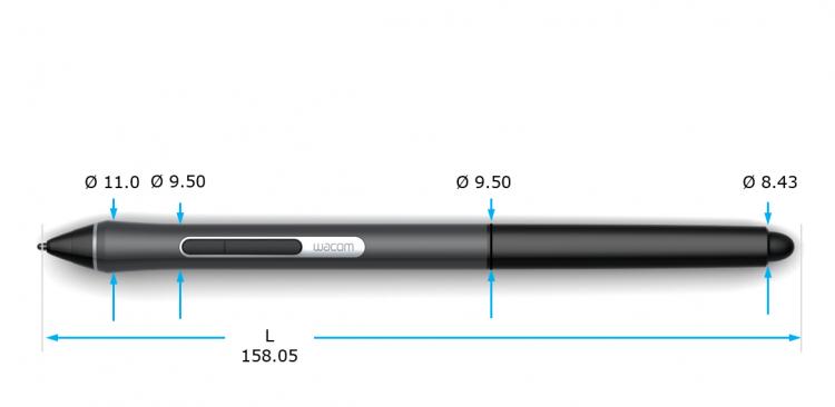 """Wacom начала выпуск тонкого цифрового пера Pro Pen slim"""""""
