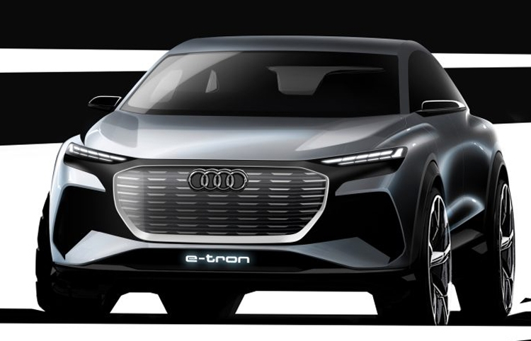 "Электрокар Audi Q4 e-tron выйдет не ранее конца 2020 года"""