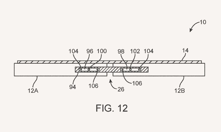 Складной iPhone показался вобновленном патенте Apple