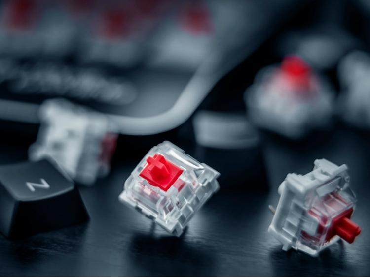 """Trust GXT 865 Asta: игровая клавиатура с механическими переключателями"""""""