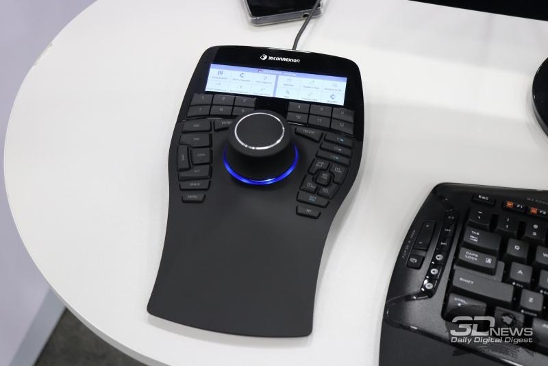 Специализированный контроллер 3DConnexion
