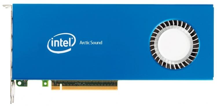 Компьютерное изображение будущего графического ускорителя Intel