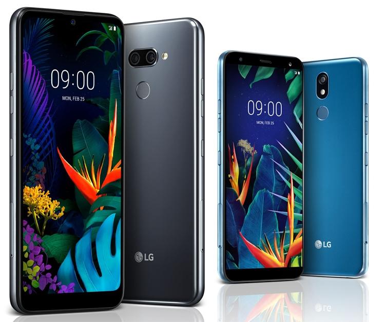 Мобильные телефоны LGK50 иK40: большие дисплеи изащищенные корпуса