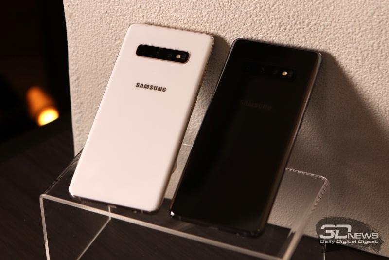Керамические Samsung Galaxy S10+