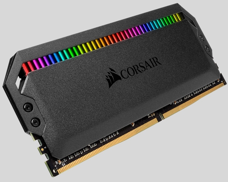 """Corsair Dominator Platinum RGB: комплекты памяти DDR4 с эффектной подсветкой"""""""