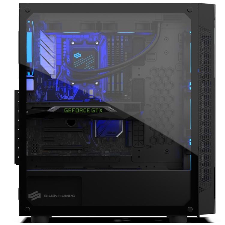 "SilentiumPC Armis AR5X TG RGB: ПК-корпус со стеклянными панелями"""