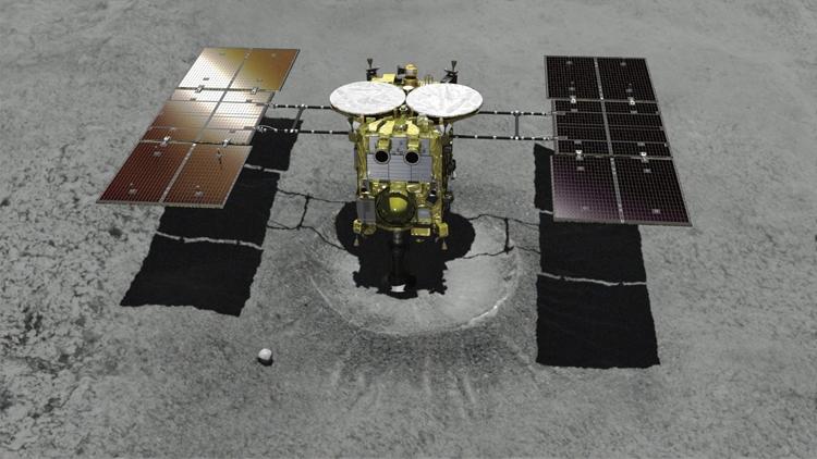 Японский зонд сел наповерхность астероида Рюгу