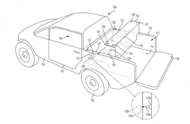 """Rivian предложит «съёмную вспомогательную батарею» для электрического пикапа R1T"""""""