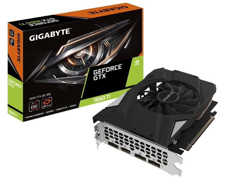 """Россыпь графических ускорителей GIGABYTE GeForce GTX 1660 Ti"""""""