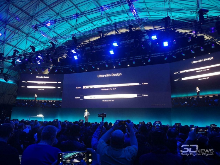 "MWC 2019: представлены 13,9"" ноутбук Huawei MateBook X Pro и 14"" MateBook 14"""